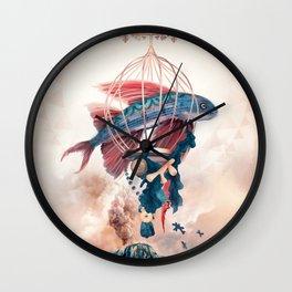 FlyFish Wall Clock
