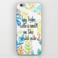 Hey babe iPhone Skin