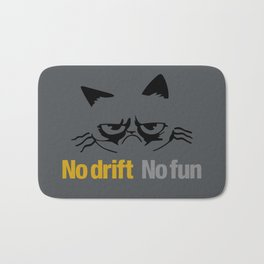 No drift No fun v1 HQvector Bath Mat