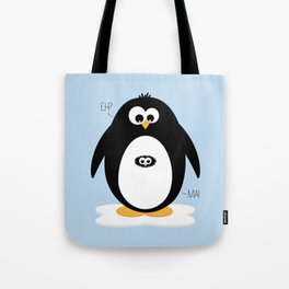 Penguin-egg  Tote Bag