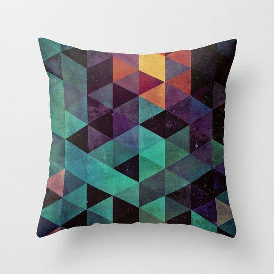 dyyp tyyl Throw Pillow