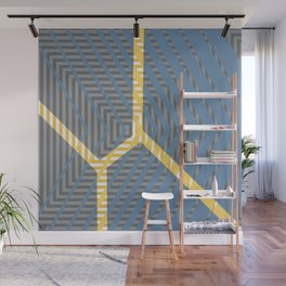 To Bee Or Not - arrow graphic Wall Mural