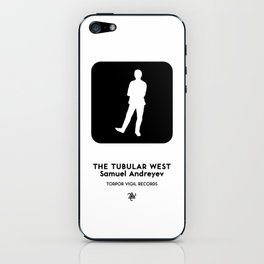 The Tubular West (Standing Man Sign 2) iPhone Skin