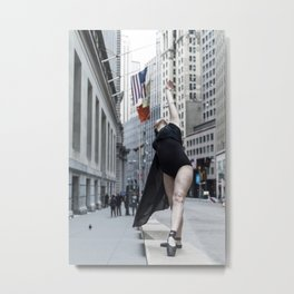 Arching to Wall Street Metal Print