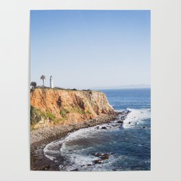 Point Vicente Lighthouse (color version) Poster