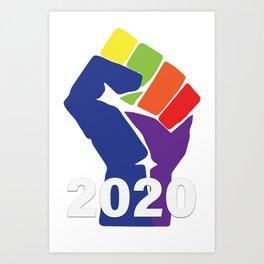 Resist To 2020 Art Print