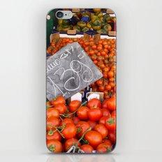 Market in Roma iPhone & iPod Skin