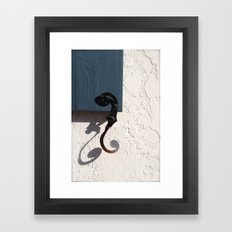 A Perfect Shadow Framed Art Print