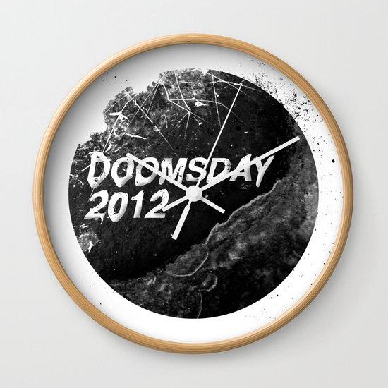 Doomsday 2012 Wall Clock