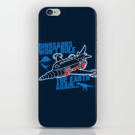 FIGHT THE DINOS iPhone Skin