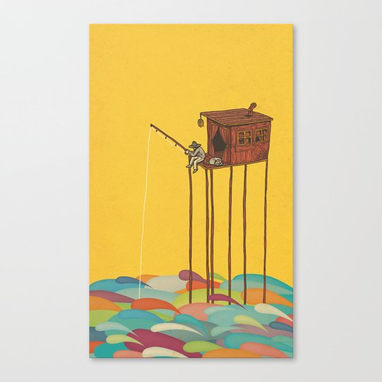 The Great Flood Canvas Print
