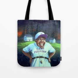 The Horror at Camp Jellyjam Tote Bag