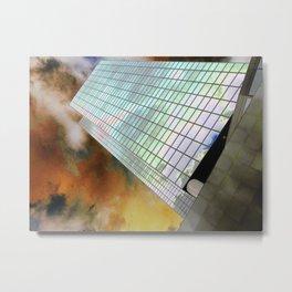 The NN-Building (Rotterdam) 6 Metal Print