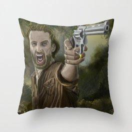 Rick Grimes Throw Pillow