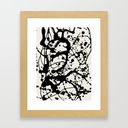 Cheers to Pollock Framed Art Print