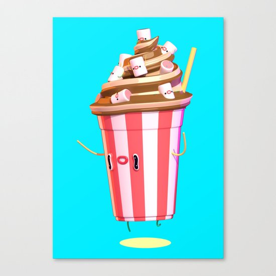 Milkshake II Canvas Print