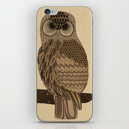 The Laughing Owl iPhone Skin
