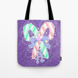 Candy Canes: Fairy Kei Version Tote Bag