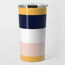 Color Stripe _004 Travel Mug