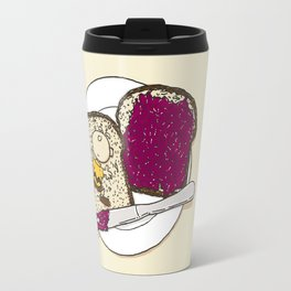 Peanut butter & Jelly Travel Mug