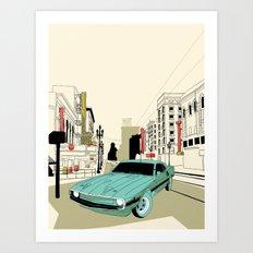 Mustang 69 Art Print