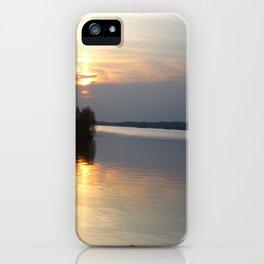 Sunset, Lough Derg - Ireland iPhone Case