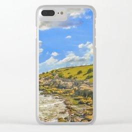 Urban Boardwalk, Mar del Plata, Argentina Clear iPhone Case