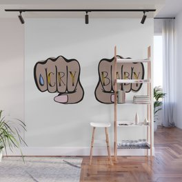 Knucks: Cry Baby Wall Mural