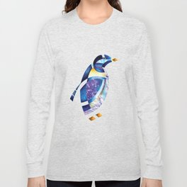 Penguin 2 (Arabic calligraphy) Long Sleeve T-shirt