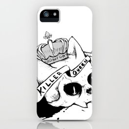 Queen Cat iPhone Case