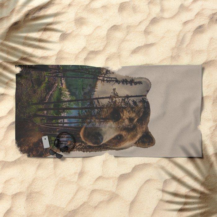 Bear Lake Beach Towel