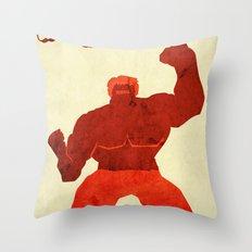 The Avengers Hulk Throw Pillow