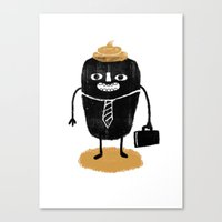 poop Canvas Prints featuring Poop. by Hadar Geva