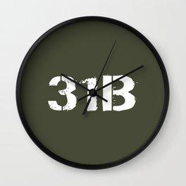 31B Military Police Wall Clock