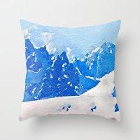 alaska Throw Pillows featuring Alaska by Acacia Alaska