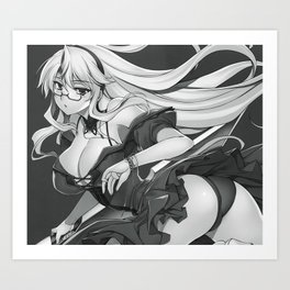 Freezing - Bridget Satellizer IV Art Print