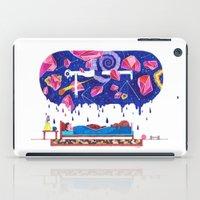 milky way iPad Cases featuring Milky Way by A.Bran
