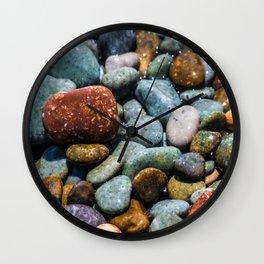Pebble beach 3 Wall Clock