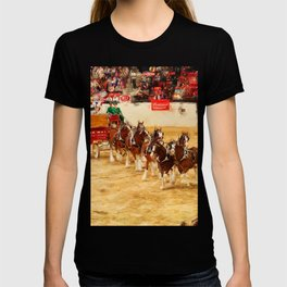 Budweiser Clydesdales performing in Las Vegas T-shirt