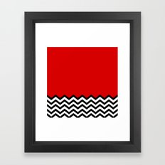 Black Lodge Dreams (Twin Peaks) Framed Art Print