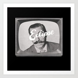Tele-Vision Art Print