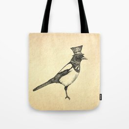 Hello Mister Magpie Tote Bag