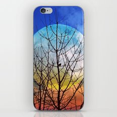 The moonwatcher iPhone & iPod Skin