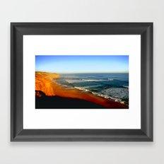 Australia's Southern Coastline Framed Art Print
