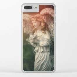 Healing Angel Clear iPhone Case