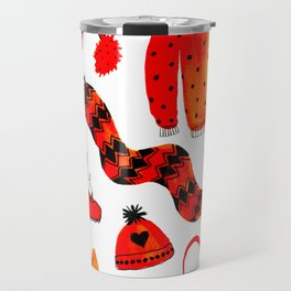 Baby It's Cold Outside - Winter Warmers Watercolor Travel Mug