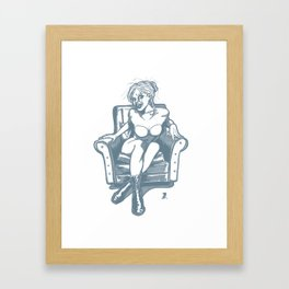 Sitdown Framed Art Print