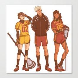 USC Trojans Canvas Print