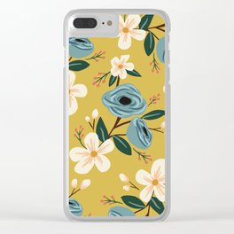 Adelaide Floral Clear iPhone Case