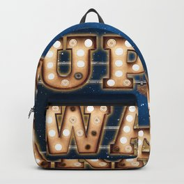 Wake up in Paradise -  Wall-Art for Hotel-Rooms Backpack